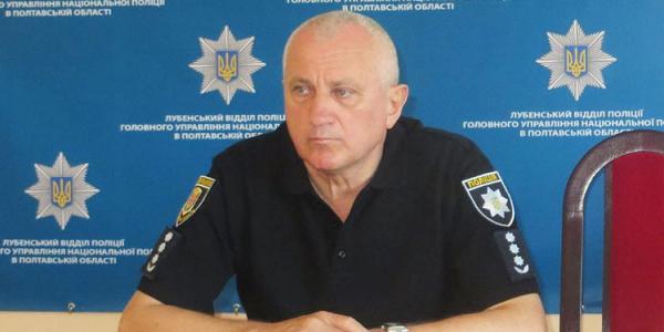 Екс-начальник міліції Кременчука Василь Овчаренко досі перебуває під вартою