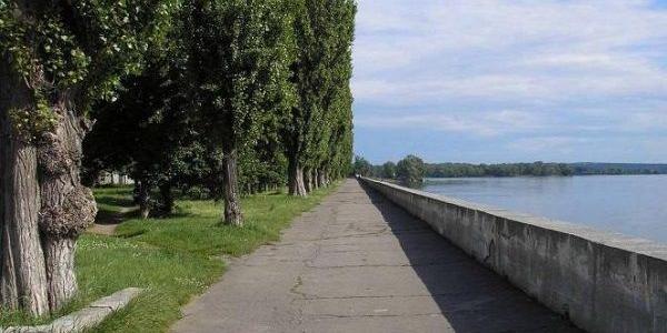 Дамбу Днепра в Приднепровском парке в следующем году обследуют и решат, что с ней делать