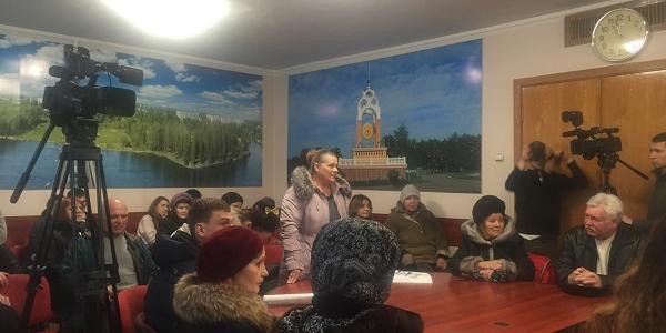 Кременчужане обещают перекрыть Проспект Полтавский, если ЦРБ расформируют