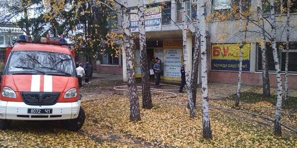 У Кременчуці горів «секонд-хенд»: на пожежі врятували трьох осіб