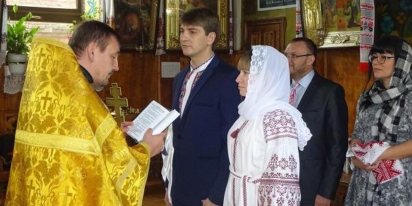 Сьогодні повінчалися головний свободівець Кременчука і кременчуцька журналістка