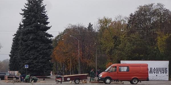 Отакої: комунальники влаштували незаконне розриття «під носом» у Малецького?
