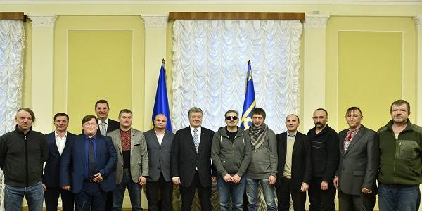 Кременчужанин Іван Балацький зустрівся з Президентом України