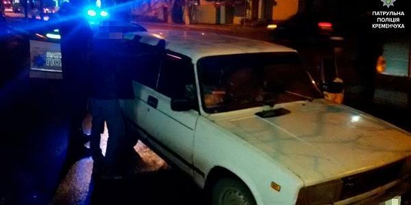 Автомобіль - порушник ПДР в Кременчуці, виявився у розшукуваним у Миколаївській області