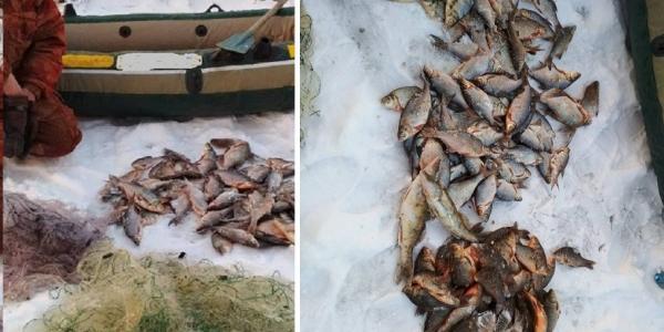 Щоб не браконьєрив: у мешканця Кременчуцького району вилучили сітки та човен