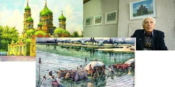У Кременчуці завтра відкриється виставка картин видатного художника Володимира Дружка