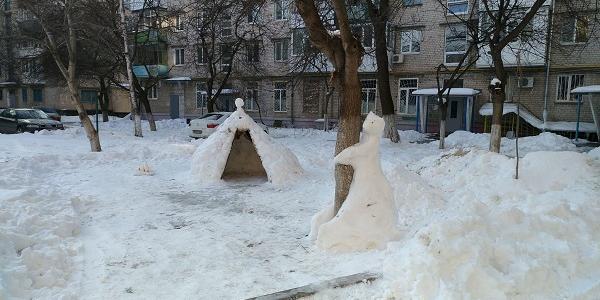 Еще один кременчугский шедевр: «сдам снежную однушку в центре»