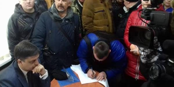 Як екс-начальник поліції Кременчука Захарченко рятував головного копа міста Ботвину