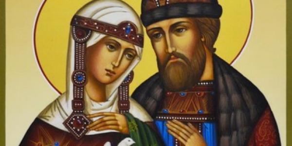 В Кременчуге можно поклониться мощам святых покровителей брака