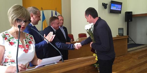 Як у Кременчуцькій мерії нагороджували пекарів, аптекарів та інших підприємців Полтавщини
