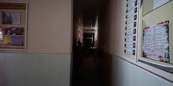 Докерувались: в адмінбудівлі КП «Теплоенерго» вимкнули світло