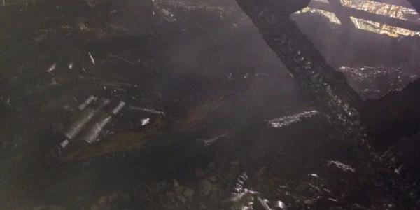 В Крюківському районі будинок «втратив» дах