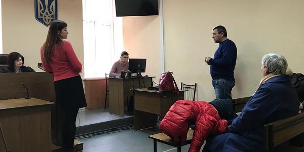 Свідок у справі «поліція проти Харченка» Піддубна заявила у суді, що активіст не ображав поліцейських