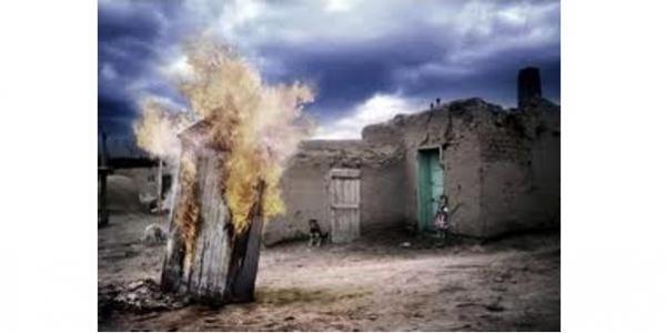 Туалет не вцілів, проте вдалося врятувати сусідню господарчу будівлю.