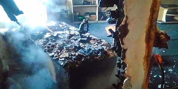 В Крюкові через несправний холодильник ледь на згорів будинок