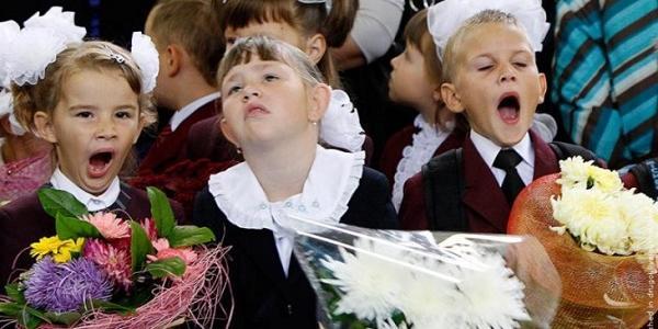В школах центра Кременчуга наплыв будущих первоклассников