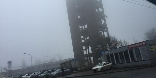 От архитектурного «достояния» Полтавы остался «скелет»