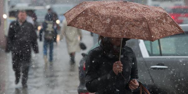 Погода «забула», що скоро Новий рік: завтра в Кременчуці прогнозують сніг і дощ