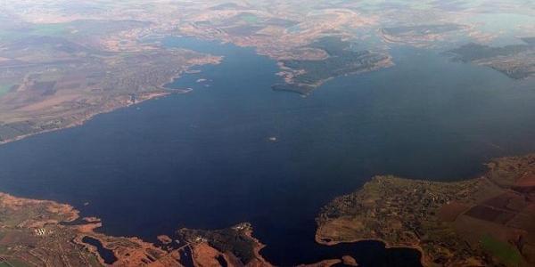 Дніпродзержинське водосховище зникло