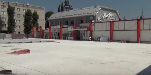 К 1 сентября кременчугский спорткомплекс «Айсберг» станет удобнее