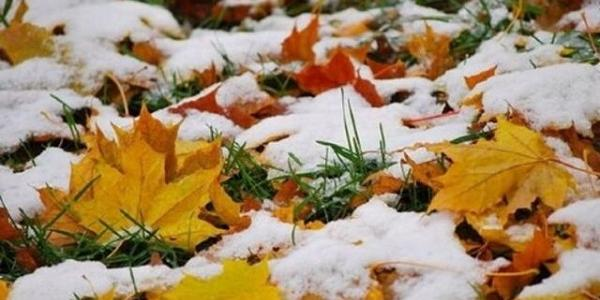В середине октября в Кременчуге ожидается снег и гололёд
