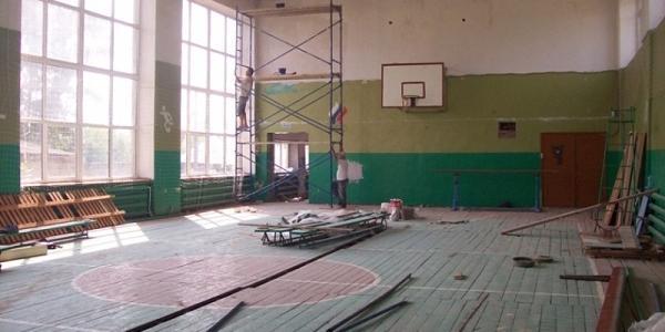Учбовий ріку Кременчуціпочинається, як і ремонт спортзали в школі №8