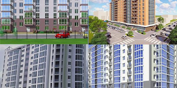 Кременчуцькі новобудови: які житлові комплекси і де зводяться у нашому місті