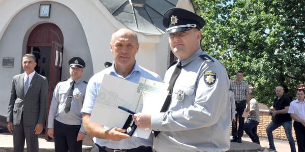 Не у Кременчуці: три нових службових авто отримали поліцейські Полтави від міської ради