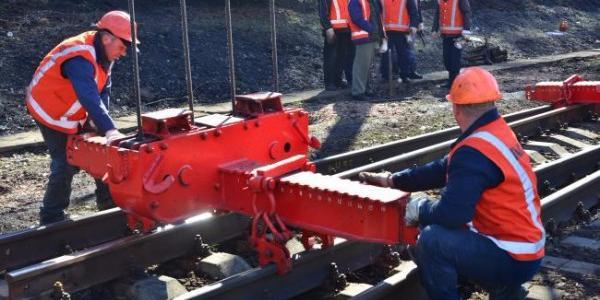 Залізничники відремонтували колії у напрямку Кременчука