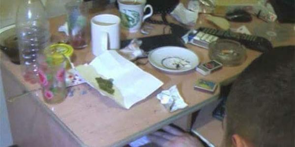 Знов наркотики: кременчужанин зберігав для себе висушені рослини конопель