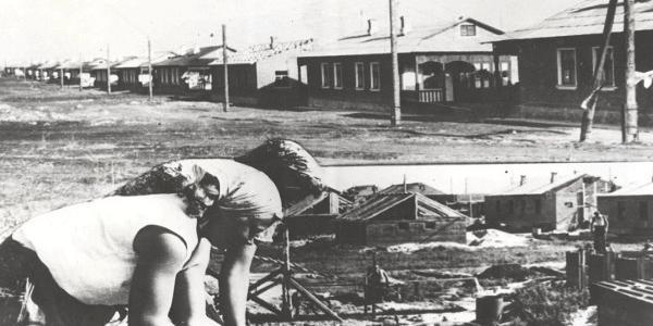 Перший мікрорайон Раківки крюківські вагонобудівники зводили без простоїв та вихідних