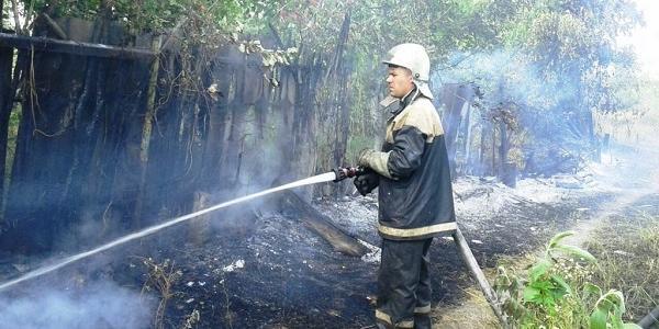 Пожежники працювали двома відділеннями рятувальних бригад.