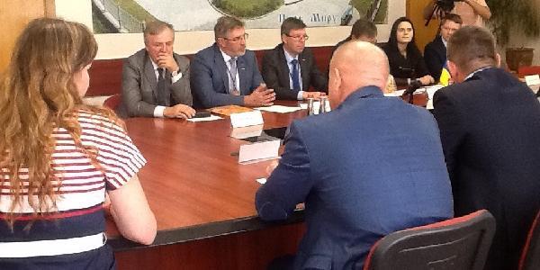 На офіційній зустрічі литовцям розповіли про корупцію у стінах мерії Кременчука