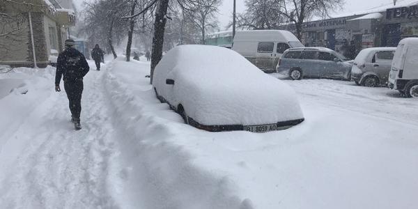 В мэрии Кременчуга рассказали, сколько снега выпало в городе