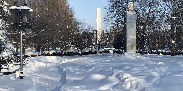 Мороз и солнце – день чудесный в Кременчуге сменит снегопад