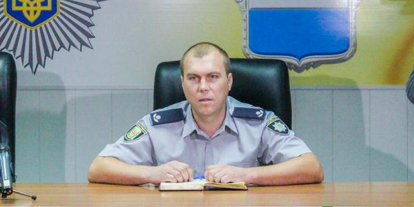 Новый начальник Кременчугского райотдела полиции Сухомлин рассказал о себе и криминогенной ситуации в районе