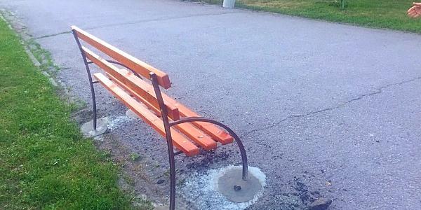 Фотофакт: парк Мира можно поздравить с обновкой
