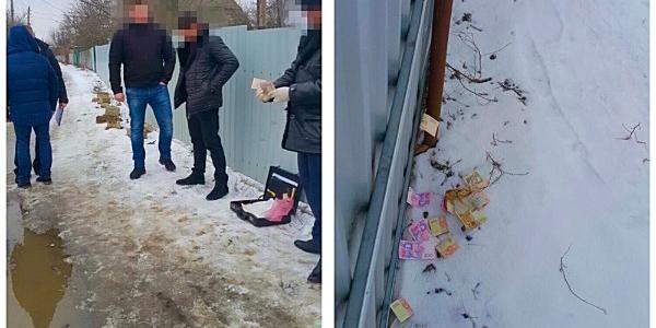 Патрульний поліцейський попався на хабарі у 6 тисяч гривень