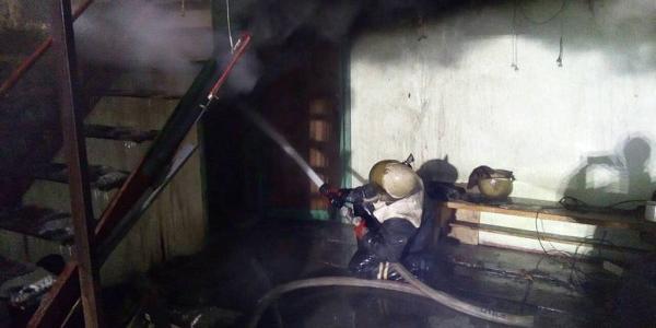 У Кременчуцькому районі загорілася лазня