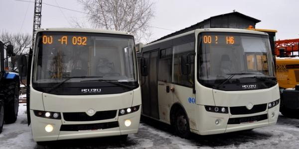 Кременчуцькі депутати погодились на покупку комунальних автобусів