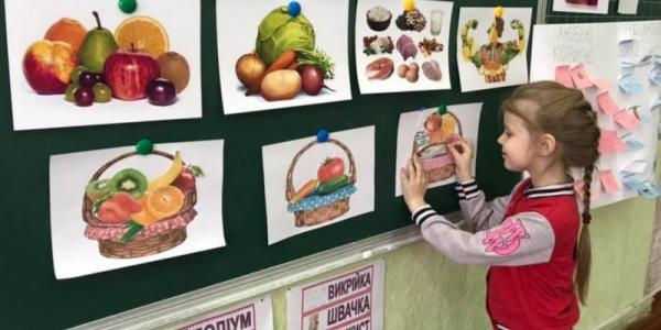 Кременчуцькі учні вчилися корисному перекусу та здоровому харчуванню у школi