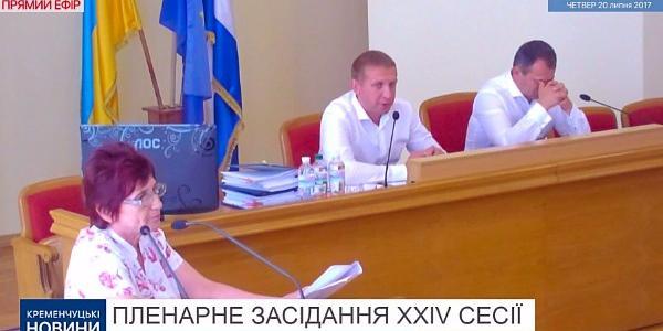 Кременчуцького мера Малецького «повиховували» з трибуни міської ради