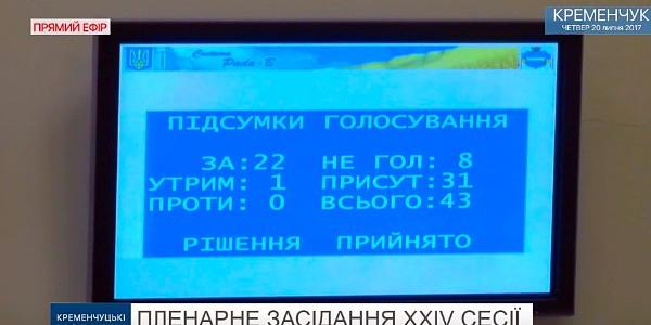Міськрада «зі скрипом» збільшила кількість чиновників у Кременчуці
