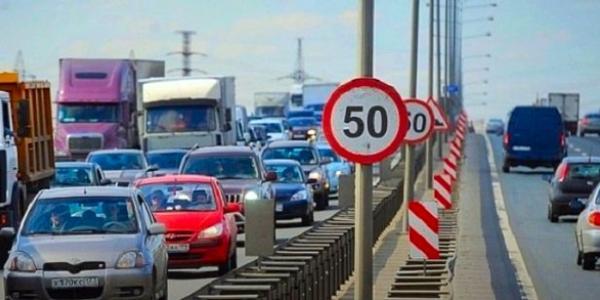 В містах пропонують обмежити швидкість до 50 км/год