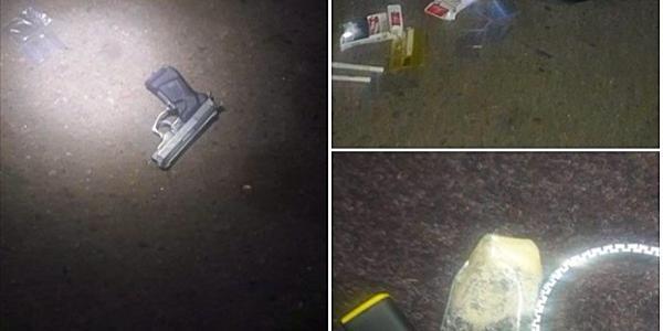 В Кременчуці на гарячому затримали наркодилера зі зброєю і «товаром»