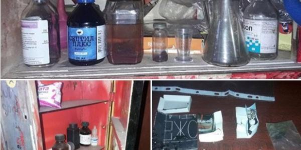 У Кременчуці поліцейські викрили нарколабораторію у помешканні кременчужанина