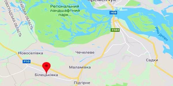 Кременчуцька райрада «перепрописалася» у Білецківці