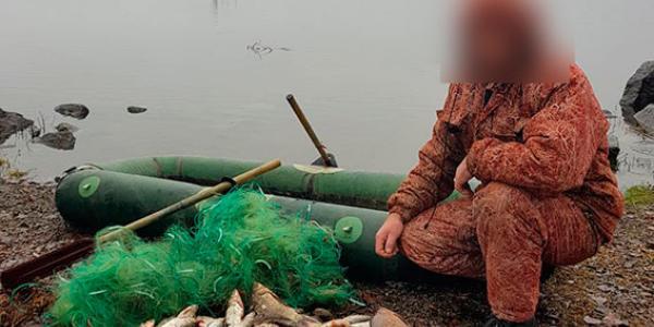 Кременчужанин попався рибоохоронному патрулю у Кам'янському водосховищі