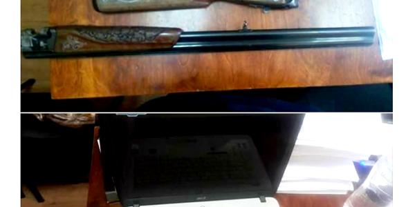 Чоловік виновис комп'ютерну техніку, цінності та навіть зброю та пізніше реалізовував усе у ломбардах.