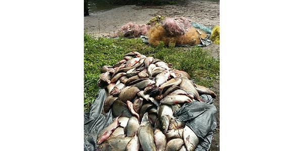 Посеред Кременчуцького водосховища браконьєри намагались скинути з човна рибоохоронного патрульного